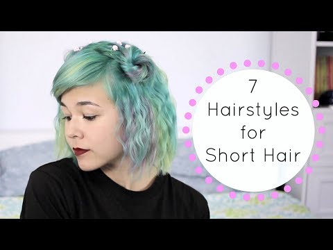7 Easy Hairstyles for Short Hair