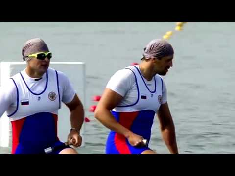 2017 ICF Canoe Sprint World Championships, Racice, Men's C-2 200m Final A.