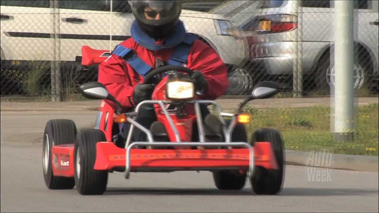 Ktm X Bow >> Racer in zakformaat: de SMC F-Kart 200 - YouTube