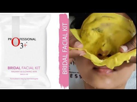 o3+ bridal facial