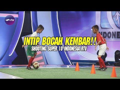 ANAK KEMBAR JAGO BANGET MAIN BOLA - BTS Super 10 Indonesia - 동영상