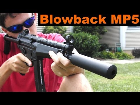 Airsoft Bell MP5 GBB Shooting