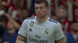 FIFA 19 ps4 Athletic Bilbao vs Real Madrid La Liga 2018-2019