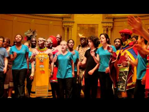 Boston City Singers and Imilonji KaNtu Choral Society Sing