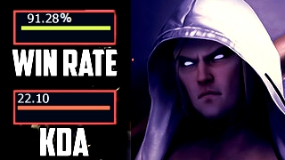 The Best Pro Invoker is BACK!!! - 91% WIN RATE !!!