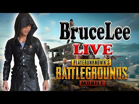 BruceLee LIVE - PUBG MOBILE - Kéo rank free nào ae