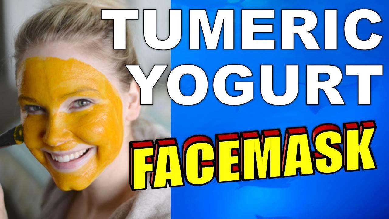 Tumeric and Yogurt Facemask Recipe For Amazing Skin