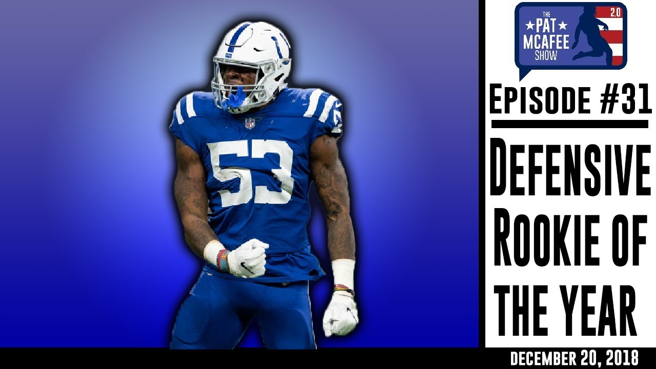new concept ff6c6 7a24a PMS 2.0 Ep. 32 - NFL Defensive Rookie Of The Year