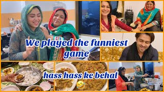 Our way of celebration |new year 2021| we played the funniest game |dahi wade recipe| ibrahimfamily