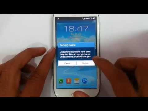 How to Disable KNOX Security on Samsung Galaxy Devices - YouTube