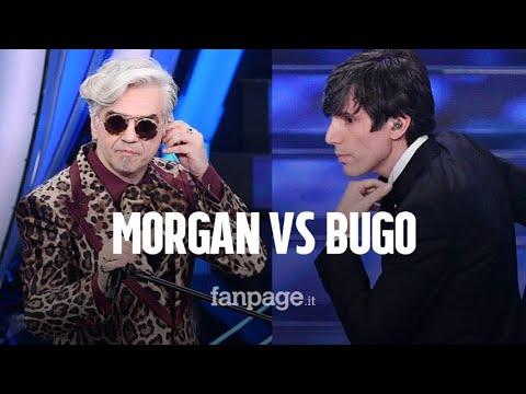 Bugo e Morgan a Sanremo 2020: cos'è successo tra i due cantanti al Festival