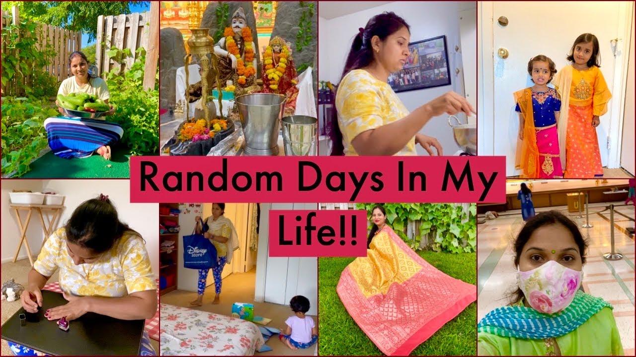 Few RANDOM DAYS In My Life | Sweet Vermicelli | Indian Mom Living Abroad/ Siya Fashion Clothing Haul