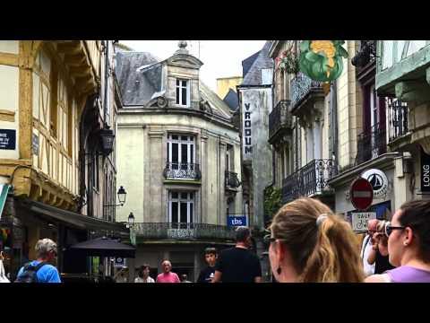 Frankreich 2015 - Vannes - in 4K!