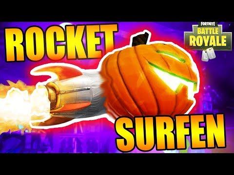 DUBBELE WIN UITDAGING & ROCKET SURFEN?! | Fortnite Battle Royale ft Hans (NL/Nederlands)