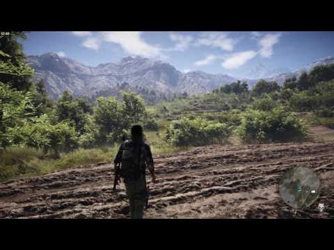 Tom Clancy's Ghost Recon: Wildlands  PC very highHBAOEnhanced godrays