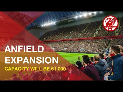 Anfield Road Expansion | Liverpool To Increase Capacity To 61k