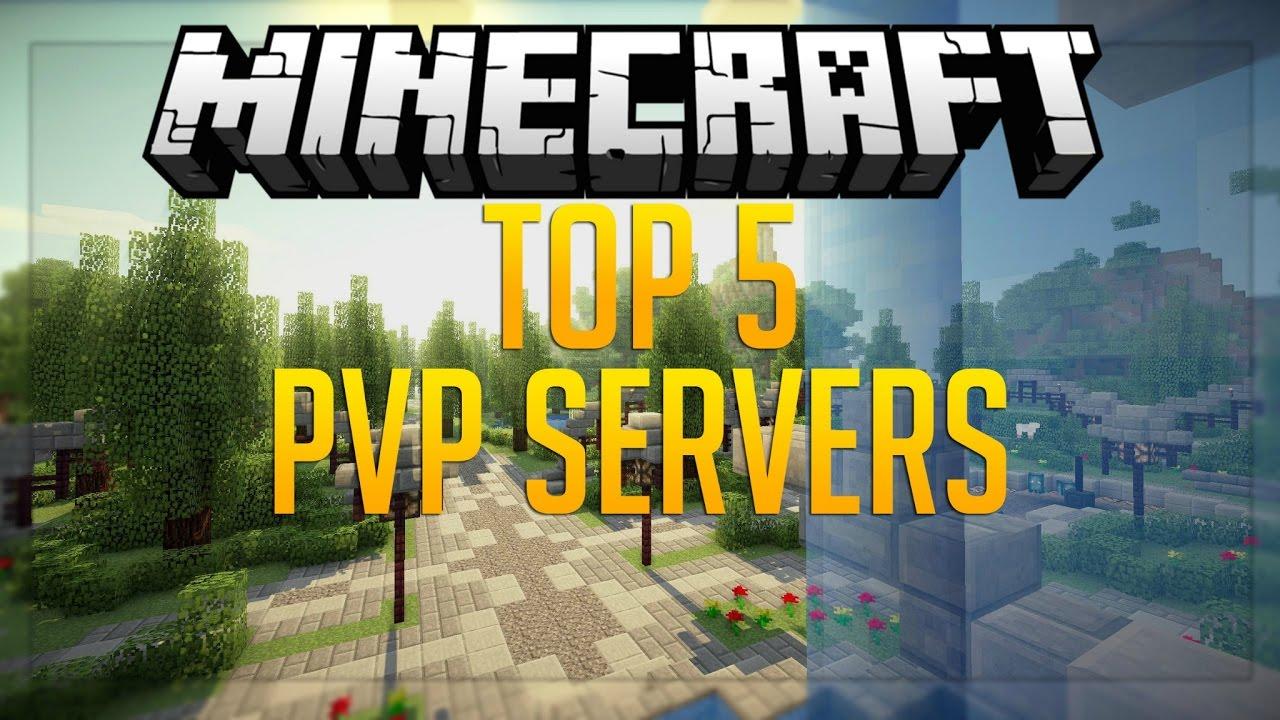 Top 5 KIT PVP Servers 1 7/1 8/1 9/1 10 HD (New Big Minecraft