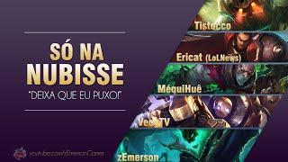 Só na Nubisse #19 - Tistocco, EriCat, Méqui Huê e VeceTV