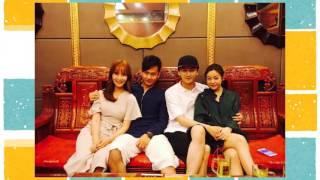 陳曉的好兄弟褚謹在9日的晚上,在微博上曬出了一張跟陳曉、陳妍希的合照...