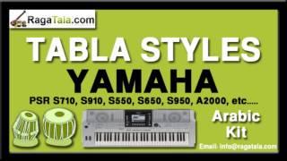 Dil dil pakistan - Yamaha Tabla Style - Arabic Kit - PSR S700, S900, 1500, 3000, Tyros 1 2 3 4