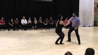 Ben Morris & Jennifer DeLuca - Atlanta Classic 2014 Open Strictly Swing 1st Place