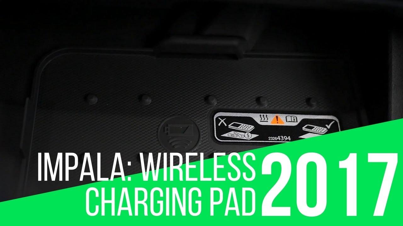 2017 Chevrolet Impala: Wireless Charging Pad