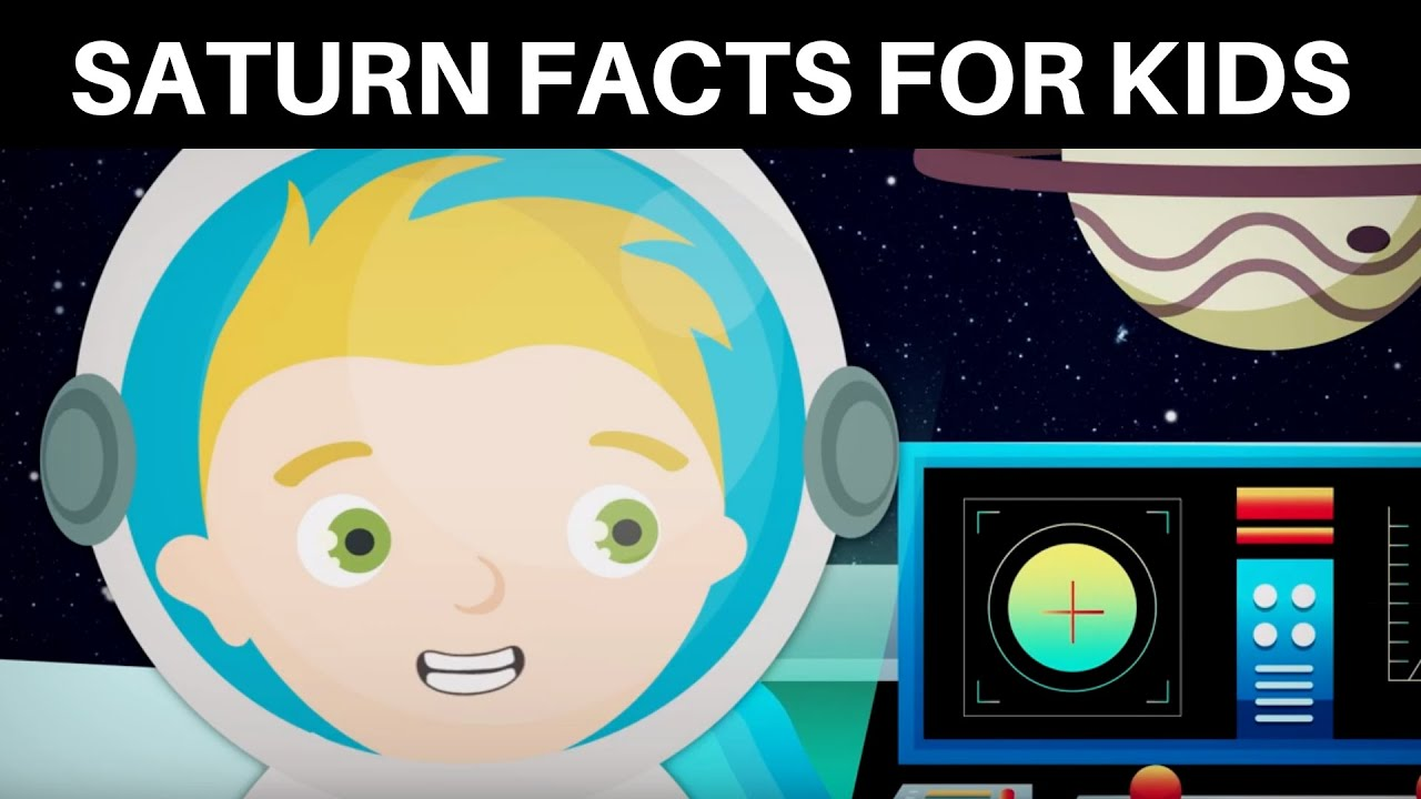 10 Saturn Facts for Kids   Solar System Facts for Kids