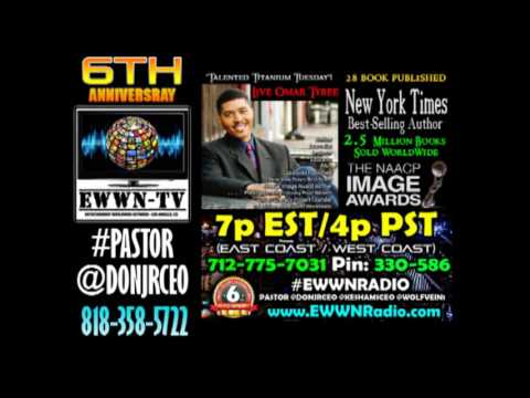 Live @omartyree 2.5 Million Book Sold WorldWide NAACP IMAGES AWARD WINNER #EWWNRADIO