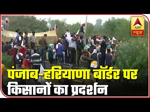 Protesting Farmers Gather