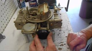 Holley Carburetor Fixing The Warp And Rebuild Part # 4