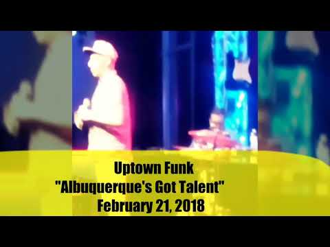 MUSIC from EVAN SAFFORD at Uptown Funk in ALbuquerque , New Mexico  February 22, 2018