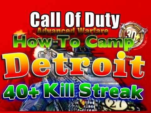 Advanced Warfare: How To Camp Detroit
