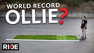 Repeat youtube video World Record Ollie - Jordan Hoffart
