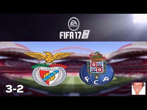 SL Benfica vs FC Porto (3-2) The derby of Portugal