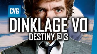 Destiny Gameplay - What's Happened to Peter Dinklage's Voice? | Destiny at 3