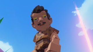 Meeting Strange People in Pixark