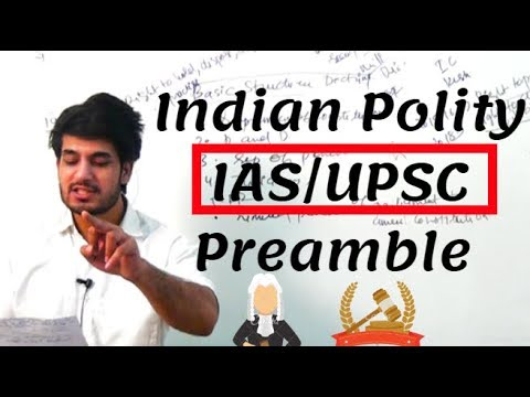 Indian Polity Lecture in Hindi for IAS/UPSC - Preamble ( प्रस्तावना) by Anuj Garg Coaching