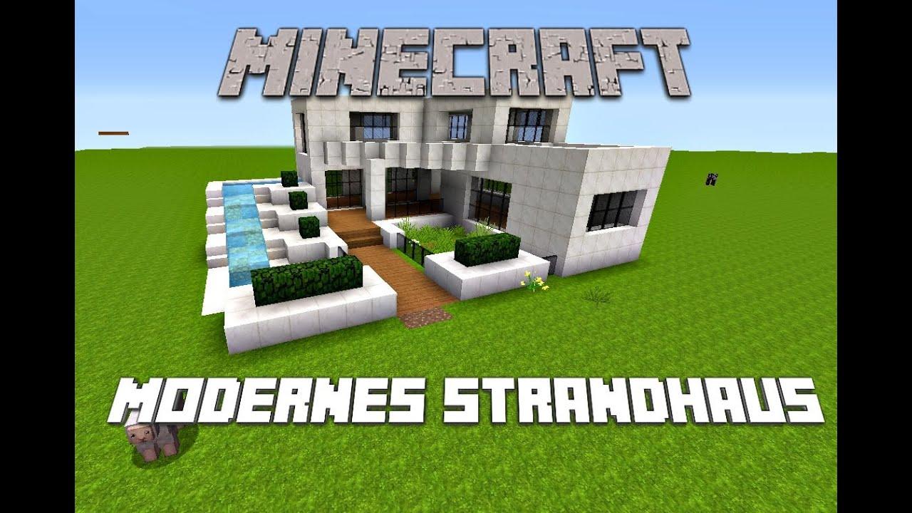 Minecraft modernes strandhaus youtube for Minecraft modernes haus download 1 7 2