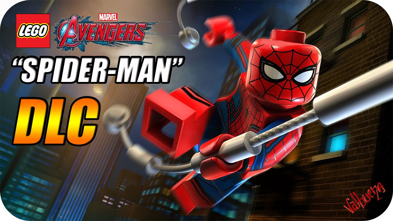 Lego Marvel Vengadores Dlc Spider Man Youtube