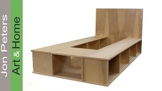 Build a Platform Bed with Storage - Part 1