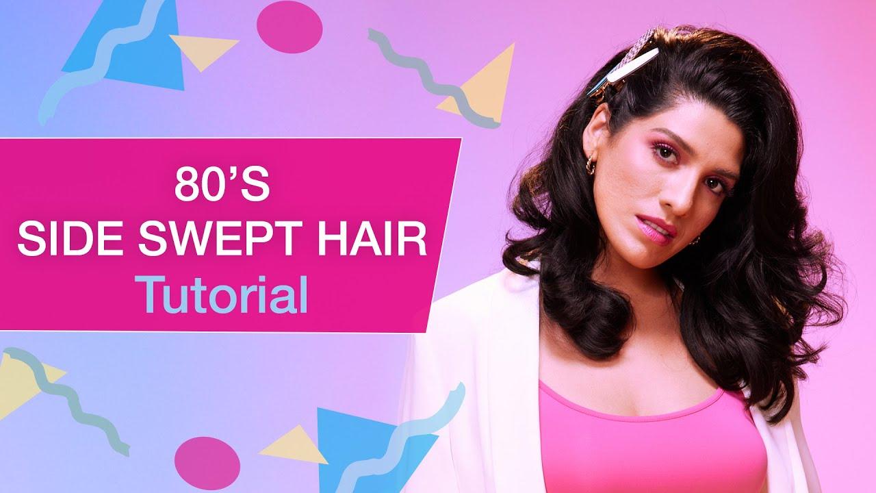 80's Inspired Modern Side Swept Hair Tutorial | Kenra Professional