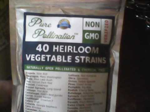 Gardening time is coming!!! Non GMO Heirloom Seeds.. Seed Harvesting And just a couple of my tips!
