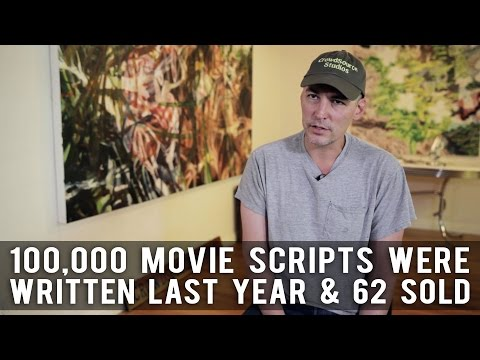 100,000 Movie Scripts Were Written Last Year And 62 Sold by Robert Lawton (CrowdSource Studios CEO)