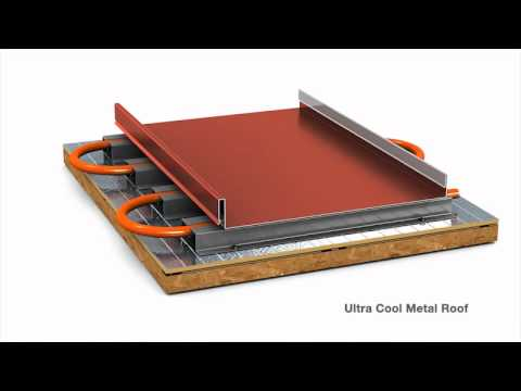 Metal Roofing Solar Sandwich From Englert Youtube