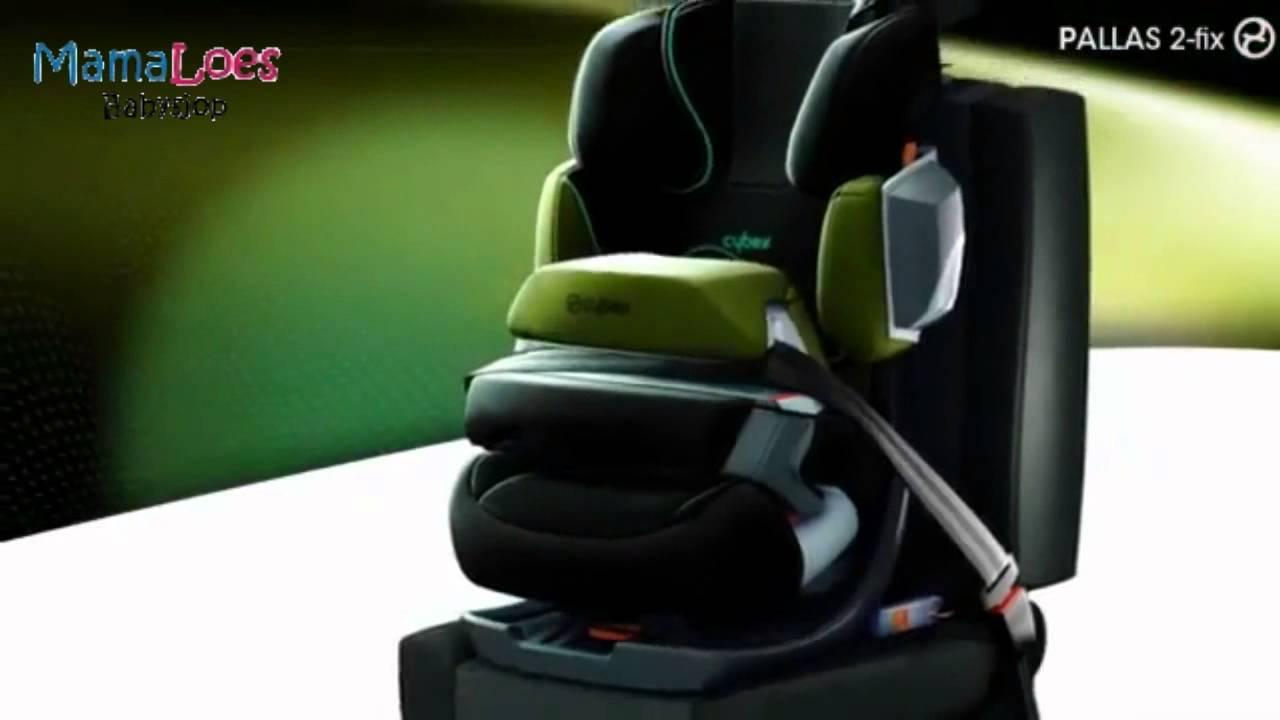 autostoel cybex pallas 2 fix mamaloes babysjop youtube. Black Bedroom Furniture Sets. Home Design Ideas