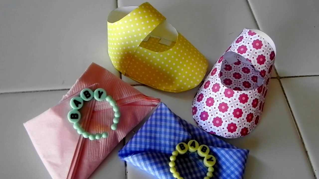 Diy zapatito de bebe decoracion para baby shower for Adornos para pieza de bebe