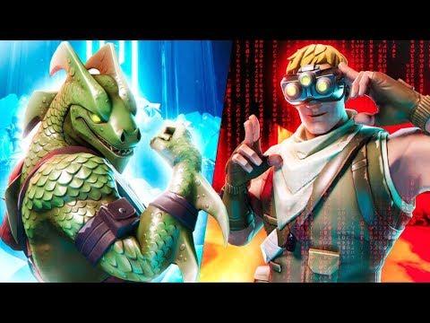 Season 4 Fornite Skins Wallpaper Season 8 Hacker Vs Dragon Youtube