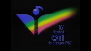 Festival OTI de la Canción 1987 - Video Completo