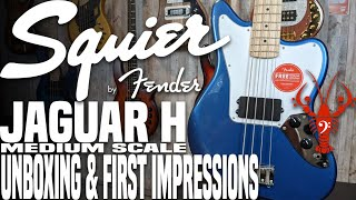 Squier Jaguar H Affinity Series Unboxing & First Impressions - LowEndLobster Fresh Look