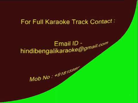 Tere Khushboo Mein Base Khat - Karaoke - Jagjit Singh - Arth (1993)